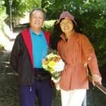 Professor Li Deyin and Mrs Li